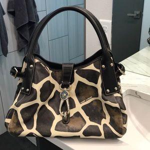 Dooney and Bourke giraffe print handbag